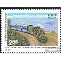 inde 934 (complète.Edition.) 1982 Darjeeling-himalaya-train (Timbres pour les collectionneurs)