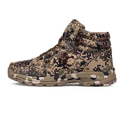 serliy Freizeit Outdoor Männer Sneakers Camouflage Style Keep Warm Desert Militärstiefel