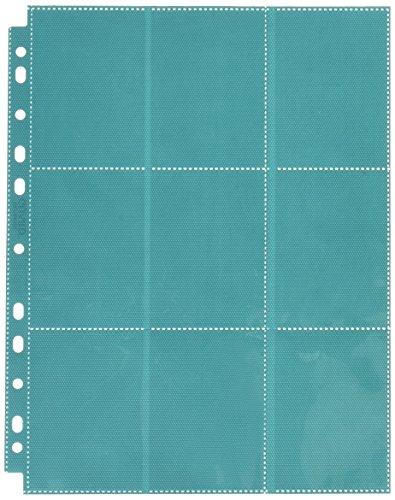 Ultimate Guard UGD010642 - 18-Pocket Pages Side-Loading, Petrolblau -