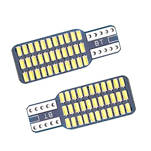 2 ampoules T10 W5W Canbus 168 194 12V 33 leds SMD 3014 blanc xénon
