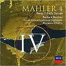 Mahler (Sinfonie Nr. 4) / Berg (Frühe Lieder)