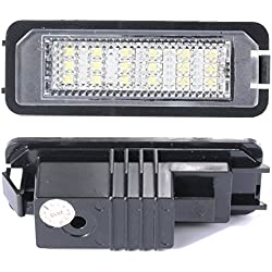 XCSOURCE MA143 2X Error Free Led License Number Plate Lamp Light