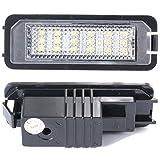 XCSOURCE MA143 2X LED Sans Erreur Lampe Feu Phare Eclairage De Plaque Plaque D'Immatriculation Numéro