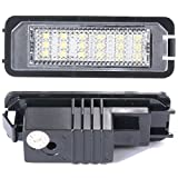 XCSOURCE 2x Error Free Led License Number Plate Lamp Light For VW GOLF MK4 MK5 POLO MA143 - XCSOURCE - amazon.co.uk