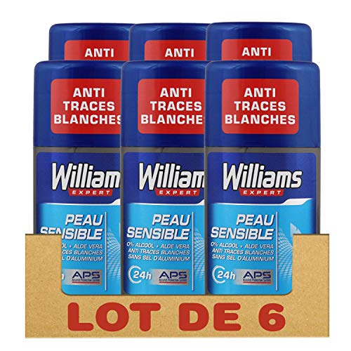 Williams Déodorant Stick Peau Sensible, Protège des Odeurs...