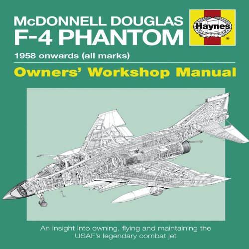Mcdonnell Douglas F-4 Phantom Manual: An insight into owning, flying and maintaining the legendary Cold War combat jet (Owners Workshop Manual) por Ian Black