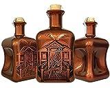 Villa Ron Luxus Spiced Rum Spirituose aus der Karibik (Barbados) limitiert auf 1.250 Flaschen aus kleiner Edelmanufaktur in kupfer 3D Geschenk TOP Qualität