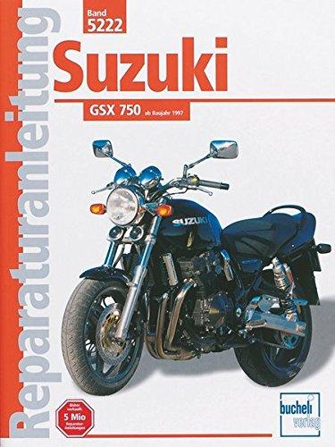 Preisvergleich Produktbild Suzuki GSX 750 (Reparaturanleitungen)