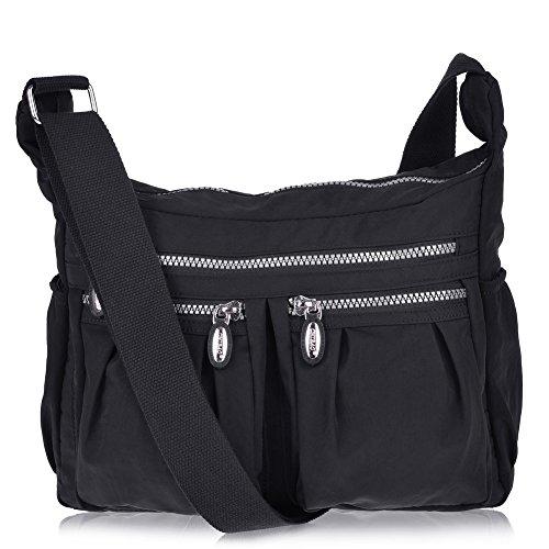 Versteckte Kamera-tasche (Vbiger Damen Umhängetasche Damen Henkeltasche Damen Handtasche Schultertasche Damen Wasserdichte Umhängetasche Leichte Schultertasche)