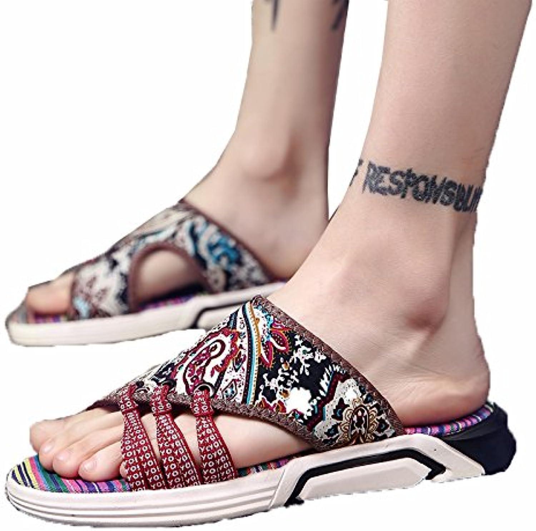 WCZ Pantofole da uomo estate moda indossare scarpe da spiaggia spiaggia spiaggia scarpe foro sandali scarpe casual, sandali da uomo...   Facile Da Pulire Surface  55d0c1