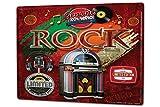 LEotiE SINCE 2004 Blechschild XXL Retro Jukebox Schallplatte Rock
