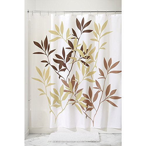 interdesign-leaves-fabric-shower-curtain-183-x-183-cm-brown