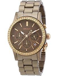 DKNY Damen-Armbanduhr Chronograph Quarz Aluminium NY8324
