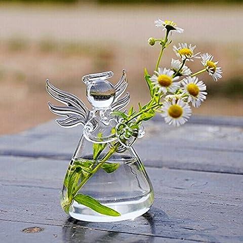 Angelo Hanging uffici di vetro Plant Flower Vase idroponica Pot - Hanging Flower Vase