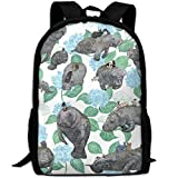 best& Vegans Animals School Backpack Bookbag for College Travel Hiking Fit Laptop Water Resistant