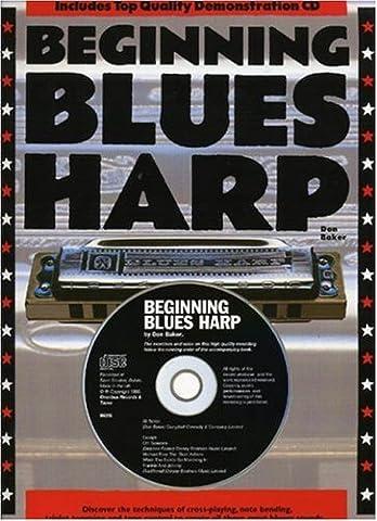 Baker Don Beginning Blues Harp Harmonica Book/Cd English Version