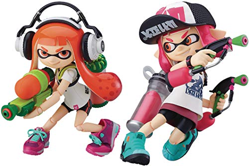 Good Smile Nintendo Splatoon Inkling Girl DX Edition Figma Action Figure