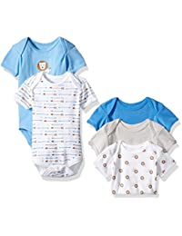 Rene Rofe Baby Boys' 5 Piece Shortsleeve Bodysuit Set