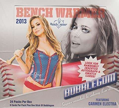 2013 Bench Warmer Bubble Gum Trading Card Box by Benchwarmer