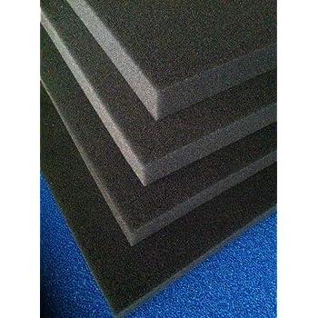 28,80€//m² Filterschaum Filtermatte 50 x 50 x 3cm 10|20|30 PPI Grob-Mittel-Fein