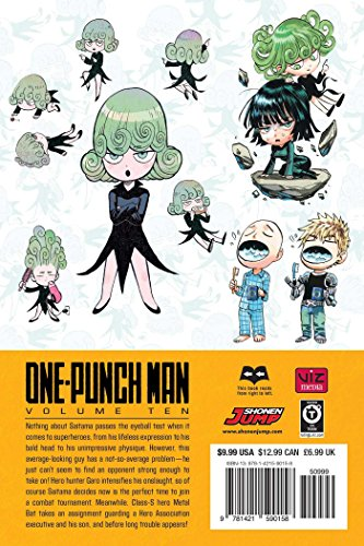 One-Punch Man, Vol. 10 - Anglais