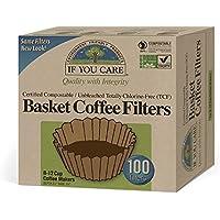 Coffee Filters, 100 Basket Filters