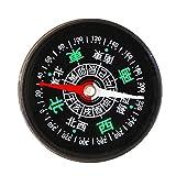 Unbekannt Kunststoffkompass für den Außenbereich mit 45 mm Durchmesser -