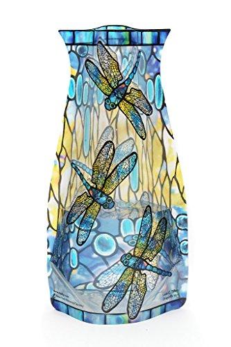 modgy zusammenklappen und erweiterbar Louis C. Tiffany Libelle Vase - Tiffany-glas-vase