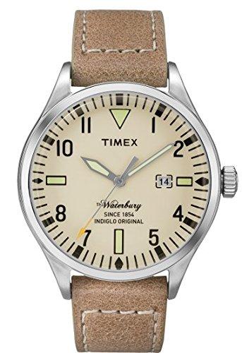 Timex Reloj Analogico para Hombre de Cuarzo con Correa en Cuero TW2P83900