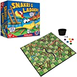 Image for board game HTI Toys Traditional Games Snakes & Ladders Family Board Game Set