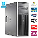 HP PC Tour Elite 8100 CMT Core I5-650 3.2Ghz 16Go Disque 2To Graveur WIFI Win 7