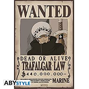 ONE PIECE Poster Wanted Trafalgar Law (52x35) by Abystyle