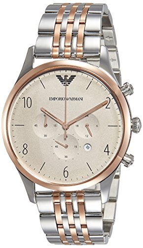 Emporio Armani Analog Gunmetal Dial Men's Watch - AR1864 image
