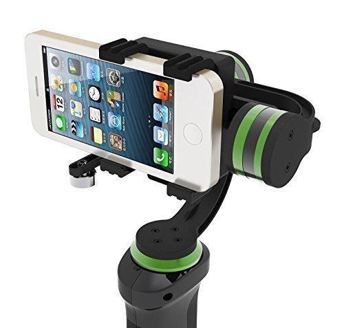 Lanparte Hhg-01Stabilisateur 3axes Handheld Gimbal pour smartphones GoPro iPhone 6S Plus Caméras vidéo W/GoPro Clamp inclus
