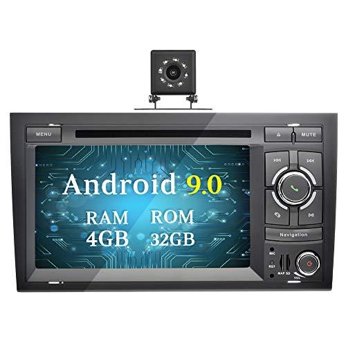 Ohok 7 Pulgadas 2 DIN Autoradio Android 9.0 PIE Octa Core 4G+32GB...