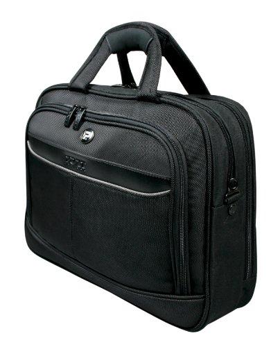 Port Manhattan Pro Top Loading Tasche für Notebook 25,4 cm (10 Zoll) bis 33,8 cm (13,3 Zoll) schwarz (Laptop Top-loading-tasche)