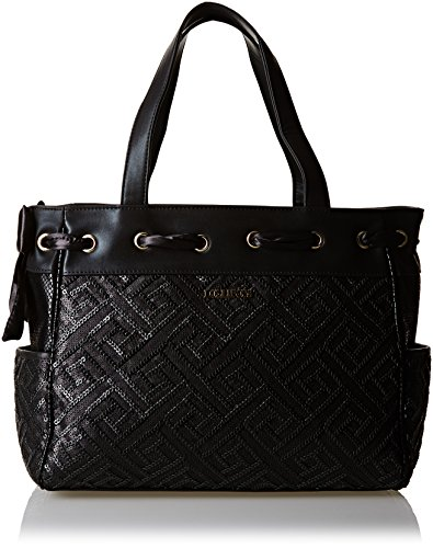 Lollipops Yori 22281, Borsa a spalla donna , Nero (Black (nero)), Taille Unique