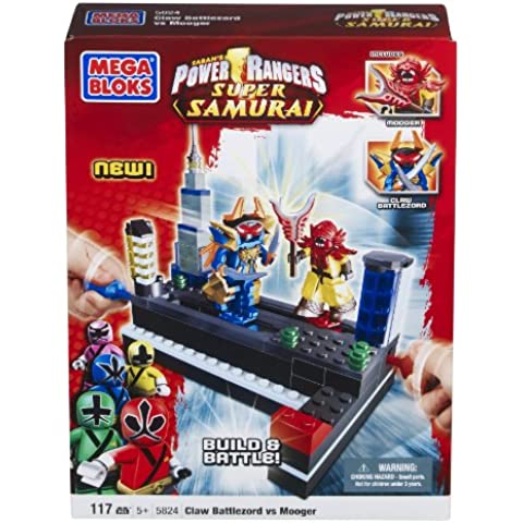 Mega Bloks 5824 Power Rangers Samurai  Claw Battle Zord