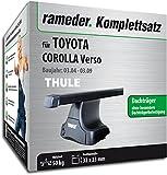 Rameder Komplettsatz, Dachträger SquareBar für Toyota Corolla Verso (116508-05127-1)