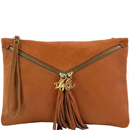 Tuscany Leather - Audrey - Sac à main pour femme - Cognac
