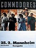 COMMODORES - LIONEL RICHIE - 1986 - Konzertplakat - United - Tourposter - MA