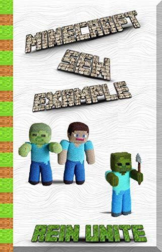 Wonder Mold Pan (Minecraft Sew Examples: 15 Informal Ventures to Breath life into Minecraft! (English Edition))