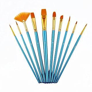 Pixnor Artist Pinsel-Set, Paint Pinsel Art Set für Acryl/Öl/Watercolor–100