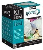 gedeo - Set per applicare la resina, colore: bianco