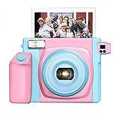 GCC Polaroid-Kamera 5 Zoll Breites Bild Einmal 210 Upgrade-Version W300,Süßigkeitfarben,Einheitsgröße