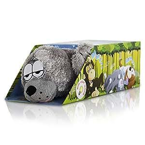 Roffle Robbe - der rollende, lachende Seehund - auch als Bewegungsmelder geeignet - Länge 29 cm