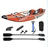 Kayak gonflable 2 personnes 100% Drop Stitch Zray DRIFT 406x81cm