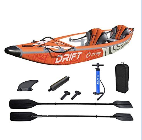 Kayak gonflable 2 personnes 100% Drop Stitch Zray DRIFT...