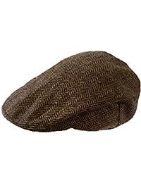 TOSKATOK Mens Tweed Flat Caps