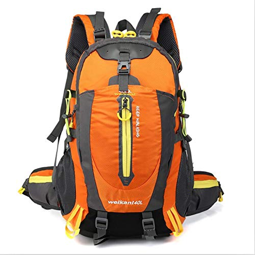 cb540cc5bbd8 KHKJ Waterproof Climbing Backpack Rucksack 40L Outdoor Sports Bag Travel  Backpack Camping Hiking Backpack Women Trekking Bag For Men